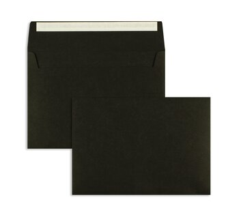 Buste da lettera colorate - Nero ~162 x 229 mm C5 | 120...