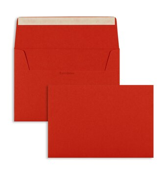 Buste da lettera colorate - Rosso (Rosso intenso)~114 x...