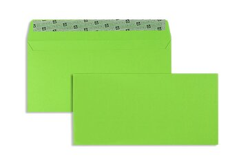 Buste da lettera colorate - Verde ~114 x 229 mm (C6/5) |...