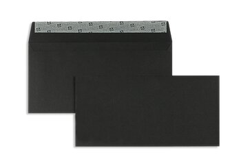 Buste da lettera colorate - Nero ~114 x 229 mm (C6/5) |...