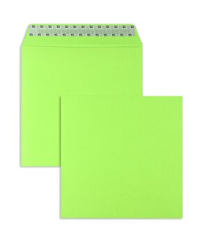 Buste da lettera colorate - Verde ~220 x 220 mm | 130...