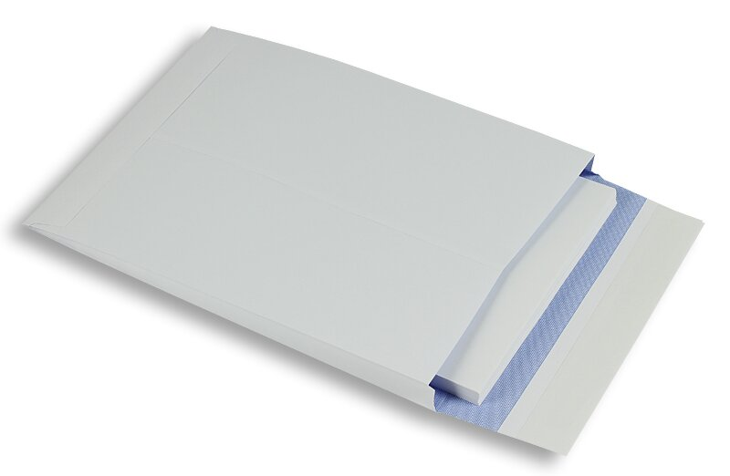 con finestre Mail media BUSTA Offset Bianco DIN Lunga