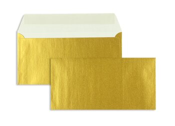 Buste da lettera colorate - Oro ~110 x 220 mm (DL) | 90...