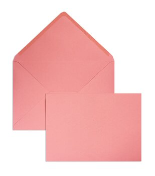 Buste da lettera colorate - Rosa (Corallo)~225 x 315 mm...