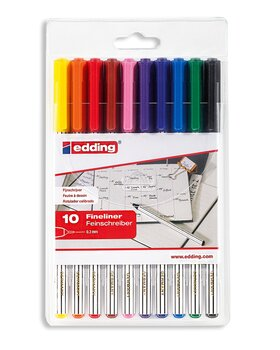 perni colorate - (Fineliner) | Multicolore (Colorati)~ |...