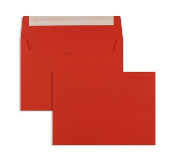 Buste da lettera colorate - Rosso (Rosso intenso)~162 x...